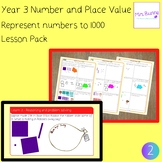 2. Number and Place Value: represent numbers to 1000 lesso