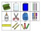 2 SCHOOL SUPPLIES Adapted Velcro BOOKS- Matching and Riddl