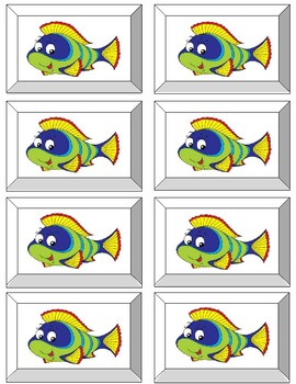 2 SYLLABLE     GO FISH GAME !  SET 2    40 cards   Step 12 non-words