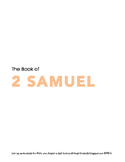 2 Samuel WORD Guide