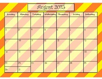 School Year Calendars 2015-2016 & 2016-2017