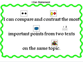 2 Sets of Compare & Contrast Paired Passages (Level C/D)