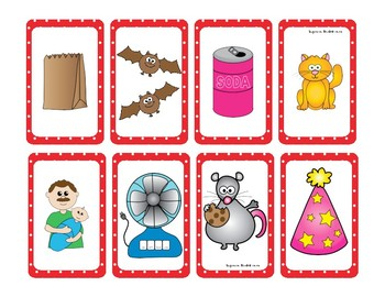 2 Short a Word Families Game (-ad, -ag, -an, -at)