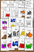 2 Sizes Teaching Colors Posters for Kindergarten, ESL Color Words Worksheets SPS