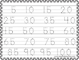 2 Skip Counting by 5's Tracing Worksheets. Preschool-KDG Math.