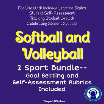 2 Sport Bundle--Volleyball and Softball