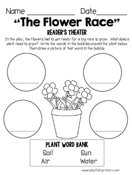 Reader's Theater Plays: Spring: 2 Parts/ 2 Plays