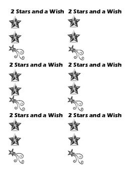 2 Stars and 1 Wish