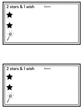2 Stars and a Wish
