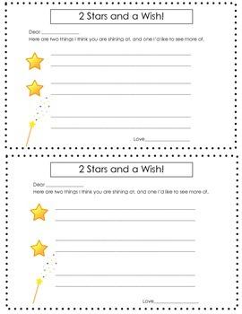 2 Stars and A Wish (Parent Teacher)