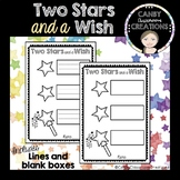 2 Stars and a Wish Feedback Cards