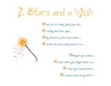 2 Stars and a Wish- Peer Conference Writers' Workshop