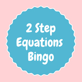 2 Step Equation Bingo