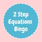 2 Step Equation Bingo