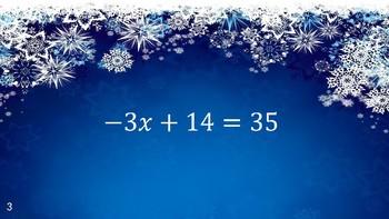 2-Step Equation Review