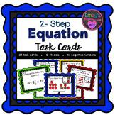 2 - Step Equation Task Cards