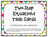 2-Step Equation Task Cards