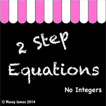2 Step Equations
