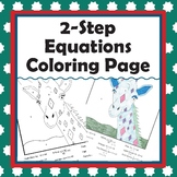 2-Step Equations Coloring Page