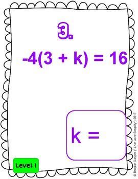 2 Step Equations Google Slides