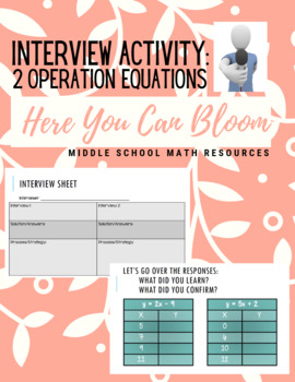 2-Step Equations Introduction