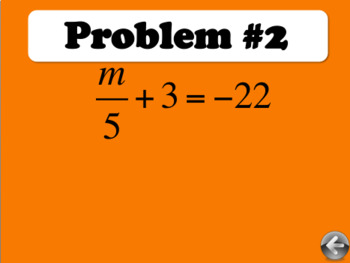 2-Step Equations Review PowerPoint