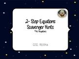 2-Step Equations Scavenger Hunt