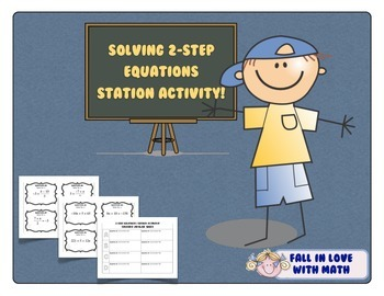 2-Step Equations Station Activity!