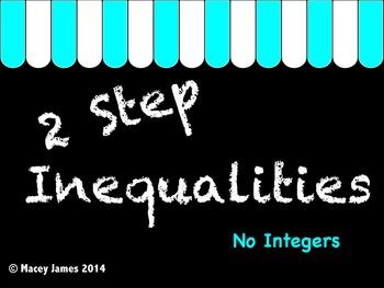 2 Step Inequalities