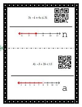 2 Step Inequality Matching QR CODE