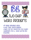 2-Step Math Word Problems/Journal Prompts