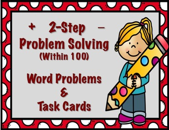 2 Step Problem Solving- Addition and Subtraction Word Problems within 100
