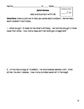 2-Step Problem Solving in Second Grade