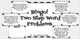 2 Step Word Problem Bingo