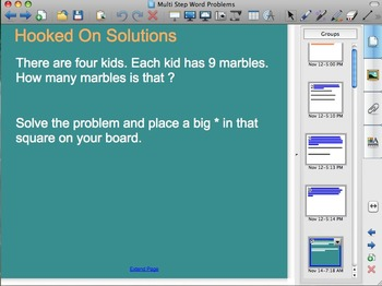 2 Step Word Problem Openings- FREE!