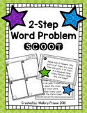 2-Step Word Problem Scoot
