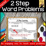 2 Step Word Problems- FREEBIE
