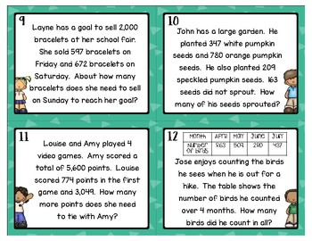 Multi-Step Addition and Subtraction Word Problems