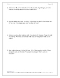 2-Step Word Problems