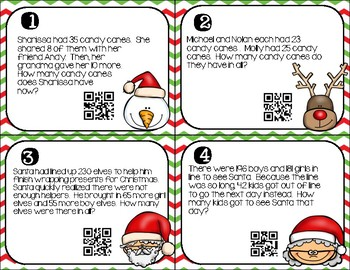 2 Step Word Problems- Christmas (3.OA.D.8)