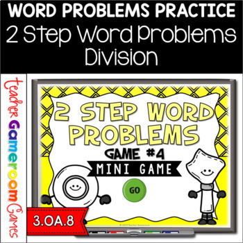 2 Step Word Problems Division Mini Powerpoint Game