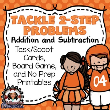 2-Step Word Problems Game Addition and Subtraction