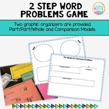 2 Step (Multiple Step) Word Problems  | Addition and Subtraction Word Problems