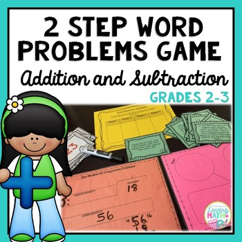 2 Step (Multiple Step) Word Problems  | Addition and Subtr