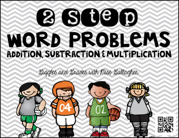 2 Step Word Problems-Sports (3.OA.D.8)