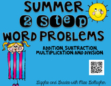 2 Step Word Problems-Summer (3.OA.D.8)