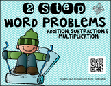 2 Step Word Problems-Winter (3.OA.D.8)