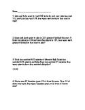2 Step Word Problems Worksheet