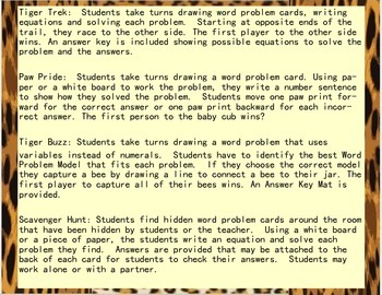 2 Step Word Problems with + - X and /
