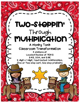 2-Steppin' through Multiplication